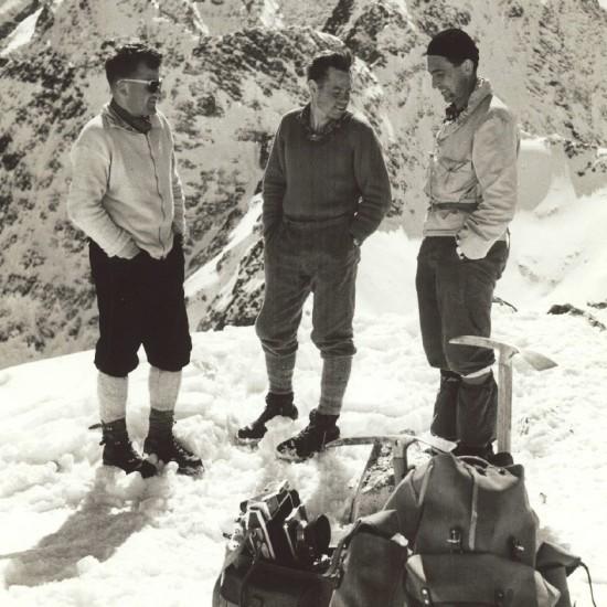 Vysoké Tatry, 1958 (S. Snášel, J. Červinka, V. Heckel) High Tatras, 1958 (S. Snasel, J. Cervinka, V. Heckel)