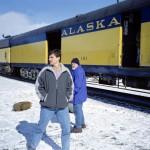 112 - Mount McKinley, Vlak v Talkeetně (35x45)