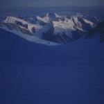 115 - Mount McKinley, V sedle mezi vrcholy (40x60)