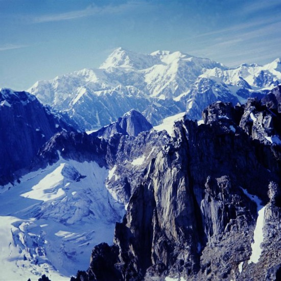120 - Alaska, Pohled z letadla