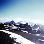 123 - Aconcagua, I výškový tábor (45x35)