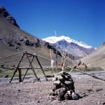 125 - Aconcagua, Cesta do základního tábora (45x35)
