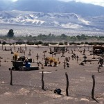133 - Argentina, Indiánský hřbitov (35x45)