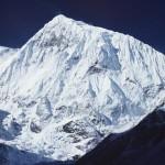 29 - Severní vrchol Manaslu (60x90)