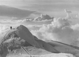 3 - Alpy, Mont Blanc 4 807 m (1955)