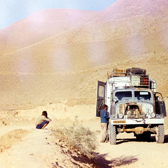 Karákóram-Pákistán-Harámoš, Návrat domů afghánskou pouští, 1970   |  Karakorum-Pakistan-Haramosh, Return home through the Afghan desert, 1970