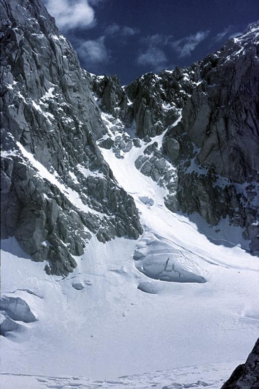 43 - Tirič Mir, Výstupová trasa do sedla mezi vrcholy (60x40