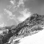 Kavkaz, Masív jižní Ušby z Mestie (4.710 m) 1985