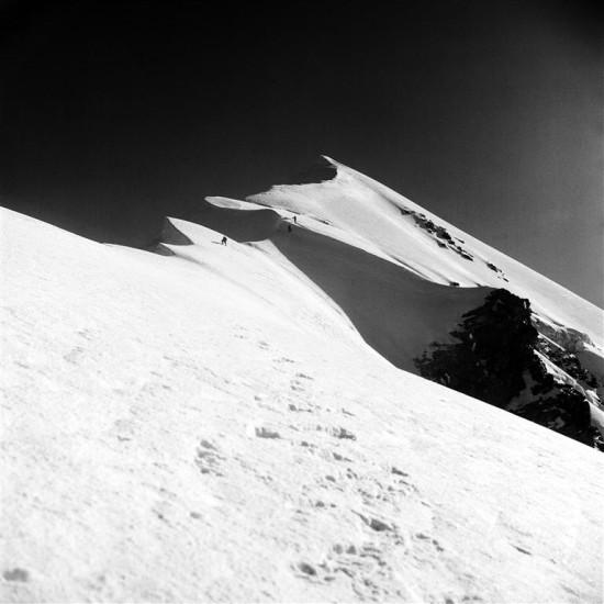 Kavkaz, Hřeben Tetnuldu  |  Crest of Tetnuld  94986 m), 1985