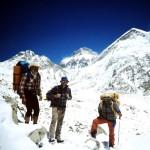 63 - Tan Šan, Chan Tengri, Pochod po ledovci (35x45)