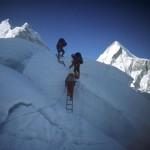 73 - Mt.Everest - Lezení v ledopádu Khumbu (60x40)