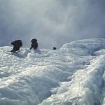 82a - Makalu, Ledova stena